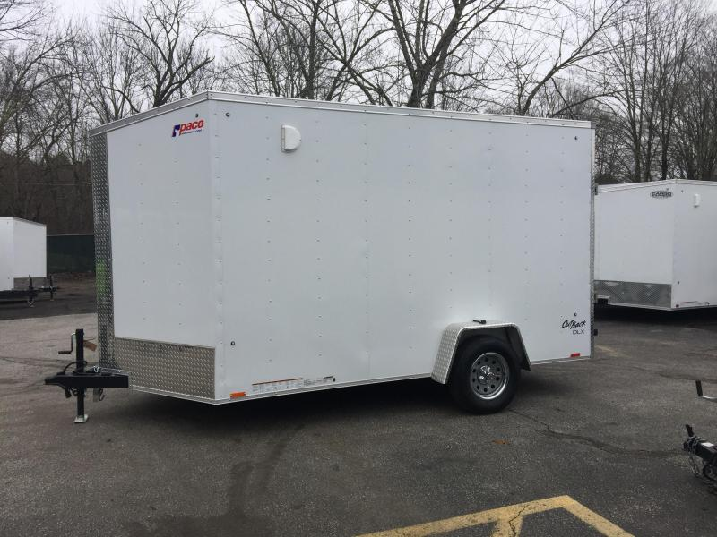 2020 Pace American OB7x12 Enclosed Cargo Trailer