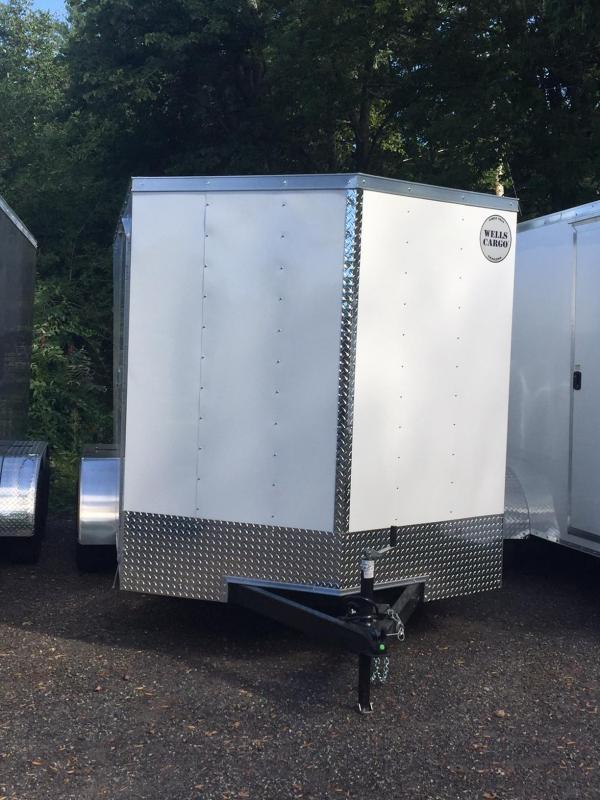 2018 Wells Cargo WCGV 300 7x14 Enclosed Cargo Trailer