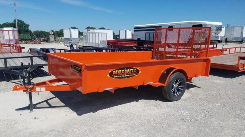 2020 Maxwell SA Solid Side Utility Utility Trailer