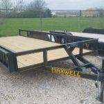 New 2019 Maxwell 83 x 16 TA Deluxe HD Utility Trailer
