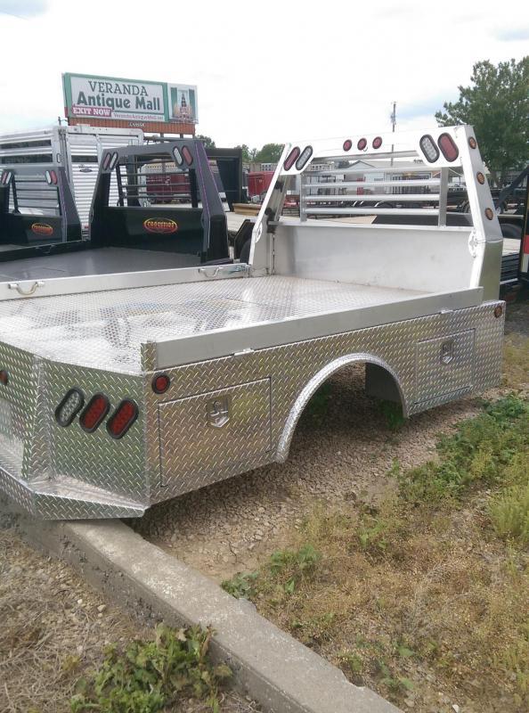 2020 Maxwell Aluminum Barron Four Box Skirted Truck Bed