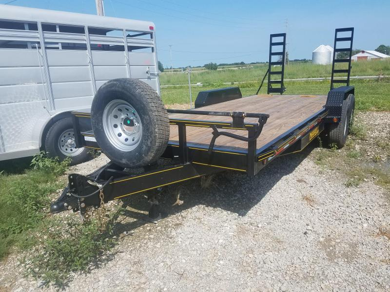 2020 Maxwell 83X20 Equipment Flatbed Trailer