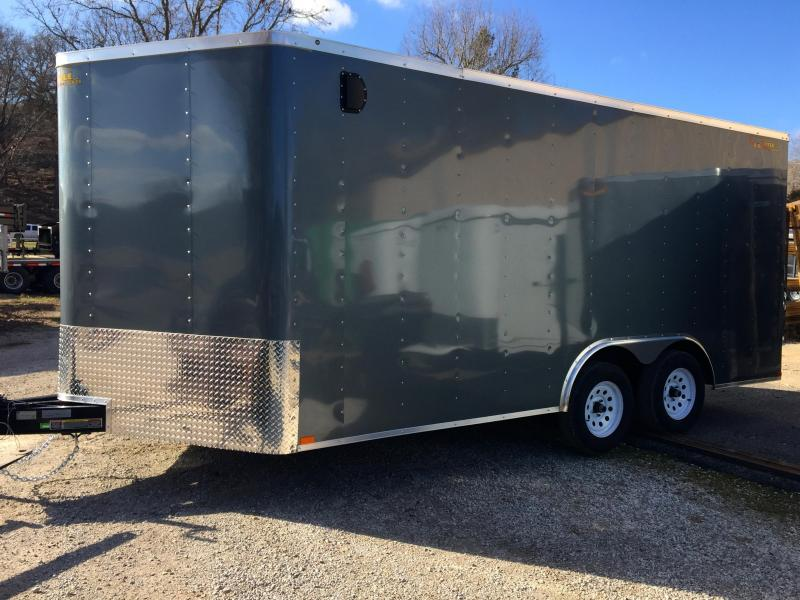2017 Doolittle Trailer Mfg 16 x 8 1/2 Cargo