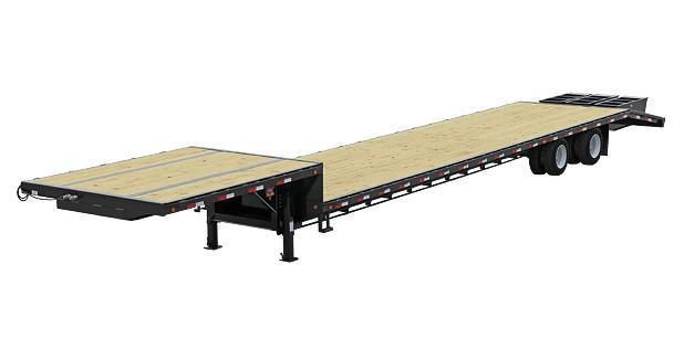 2014 PJ Trailers SD522 Flatbed Trailer
