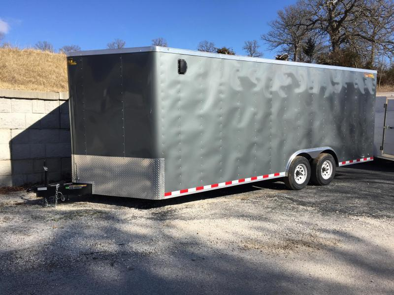 2017 Doolittle Trailer Mfg 20 x 8 1/2 Cargo