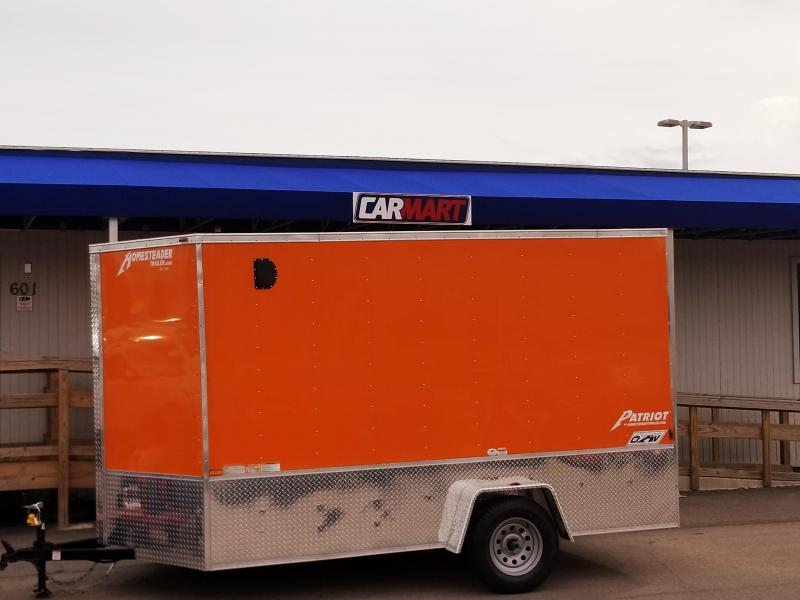 2018 Homesteader Inc. 712PS OHV Enclosed Cargo Trailer