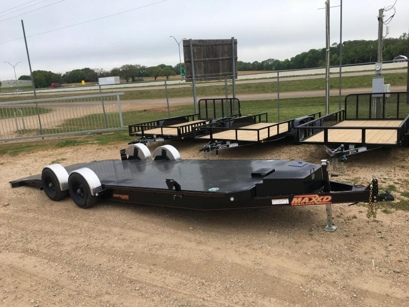 2019 MAXXD A6X - 10K Drop-N-Load Car / Racing Trailer