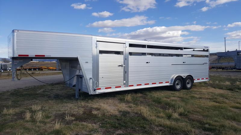 2017 Hillsboro Industries Endura Livestock Trailer