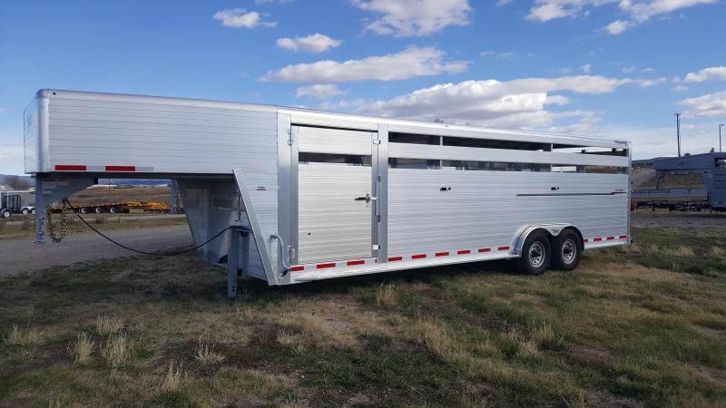2018 Hillsboro Industries ES7.5-26-68-2X7-A Livestock Trailer