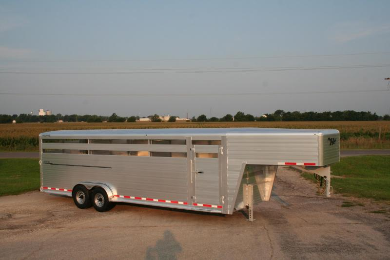 2018 Hillsboro Industries ES7-26-68-2X7-A Livestock Trailer