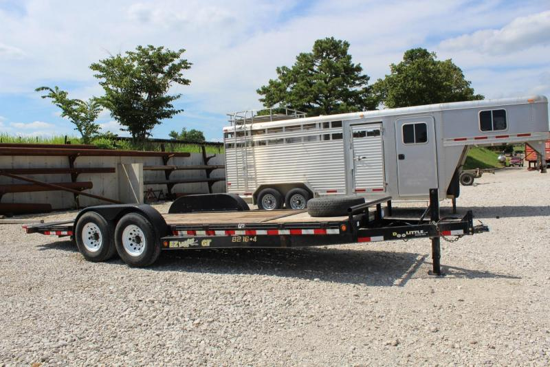 2010 Doolittle Trailer Mfg 8216+4 Equipment Trailer