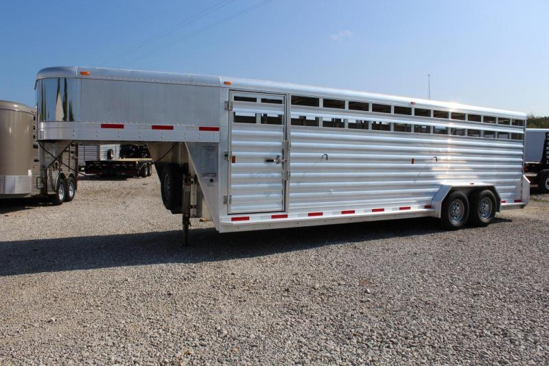 2013 Exiss Trailers STK 24 Livestock Trailer