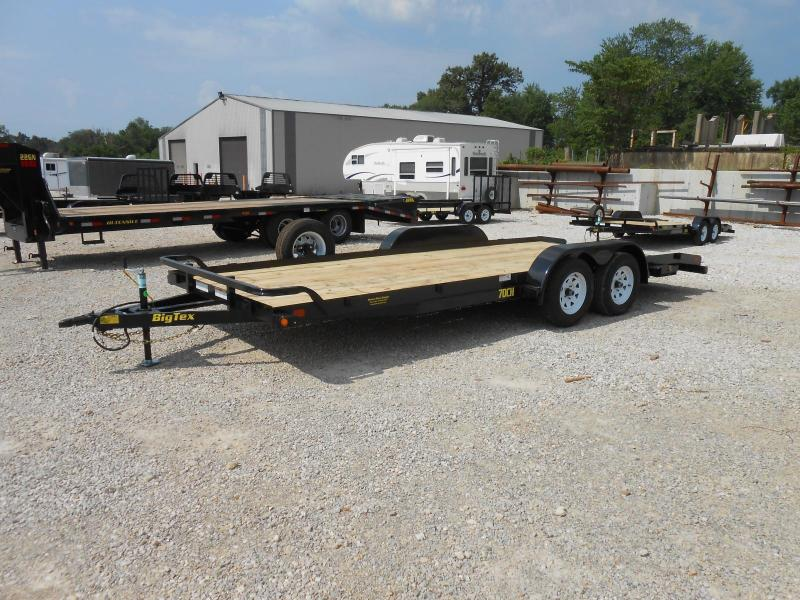 2017 Big Tex Trailers 70CH-20BK Car / Racing Trailer