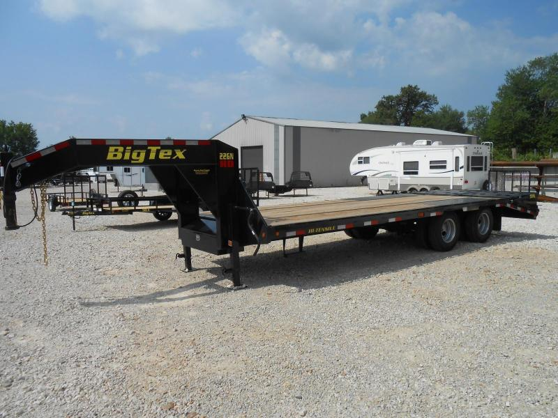 2018 Big Tex Trailers 22GN-20BK5MR Flatbed Trailer