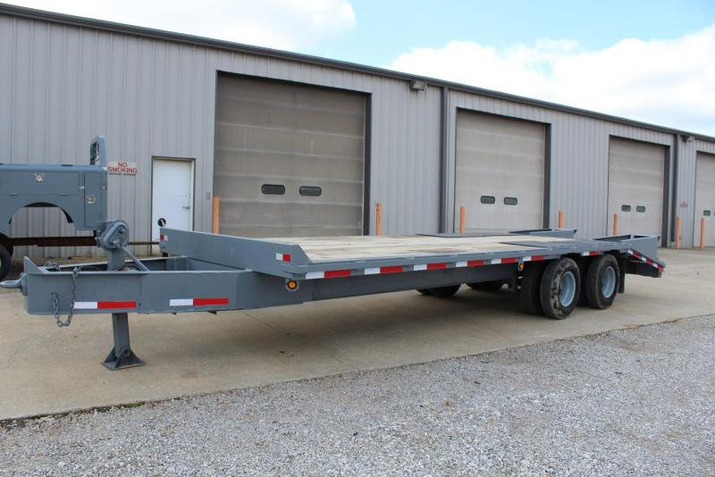 1998 Norstar 22PH 205 Equipment Trailer