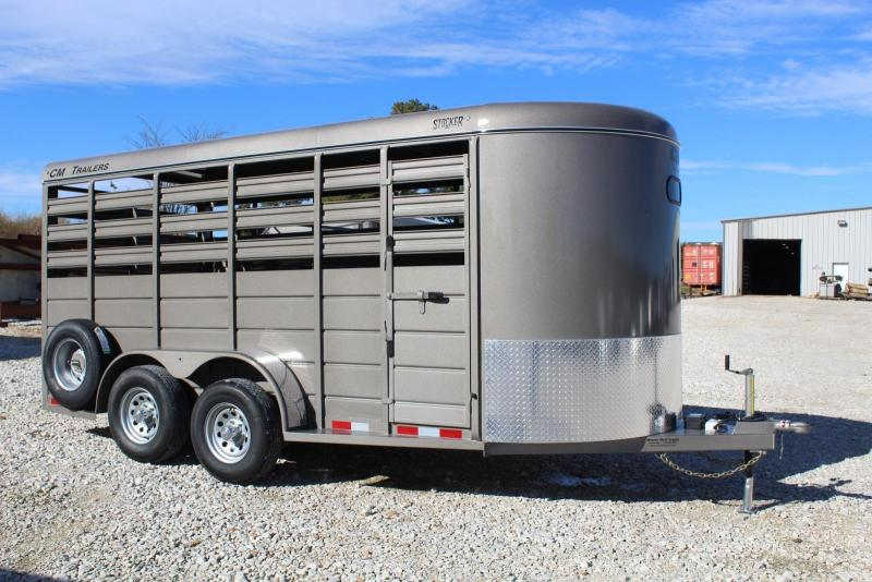 2019 CM 6'8x16 Livestock Trailer