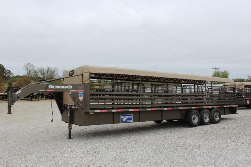 2015 Gooseneck Gooseneck 68x32 Livestock Trailer
