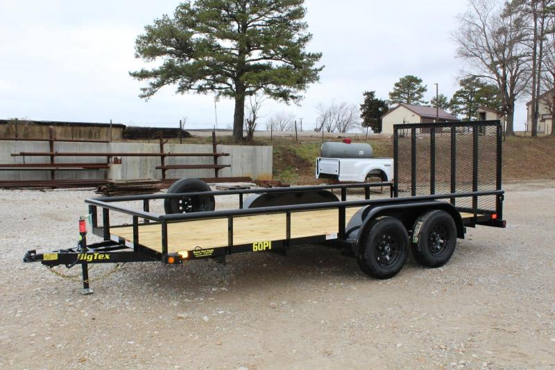 2019 Big Tex Trailers 60PI-16 Utility Trailer