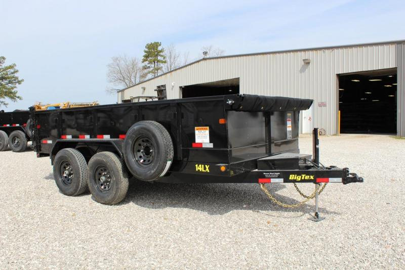 2017 Big Tex Trailers 14LX-14BK7KHJ Dump Trailer