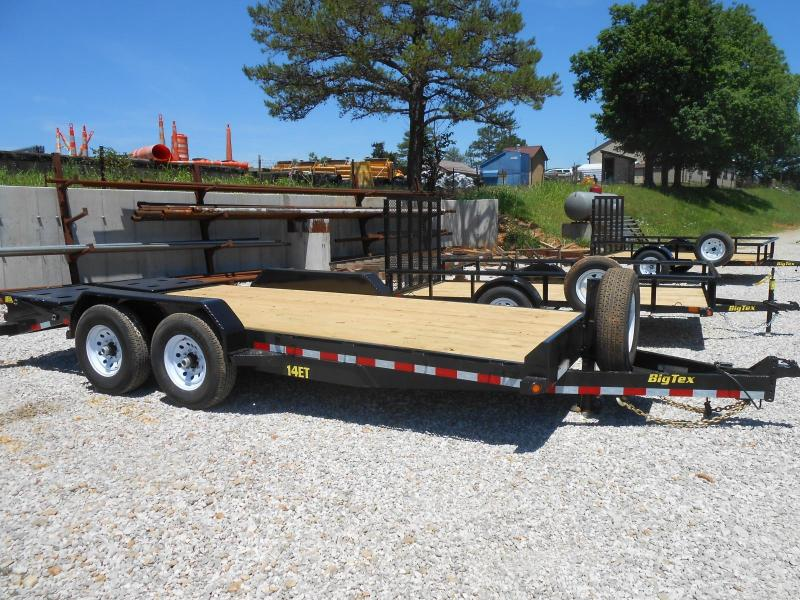 2017 Big Tex Trailers 14ET-18BK-MR Equipment Trailer