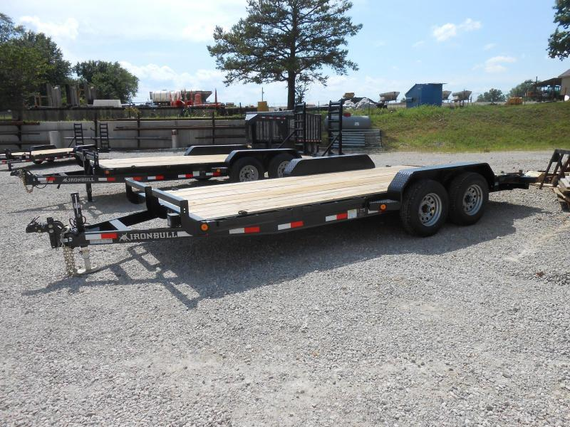 2017 Iron Bull ETB8318052 Equipment Trailer