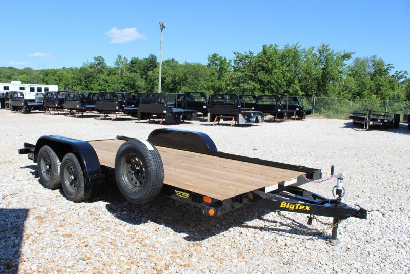 2020 Big Tex Trailers 60CH-16BK Car / Racing Trailer