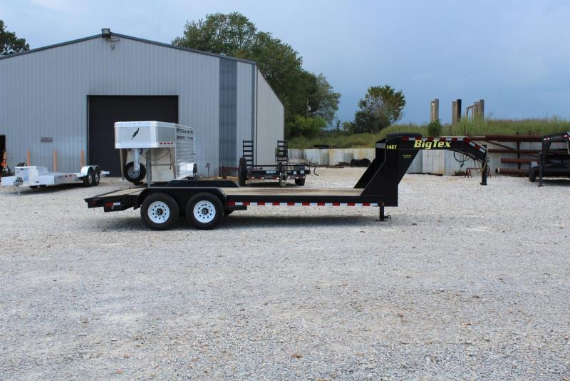 2017 Big Tex Trailers 14ET-20GN Equipment Trailer