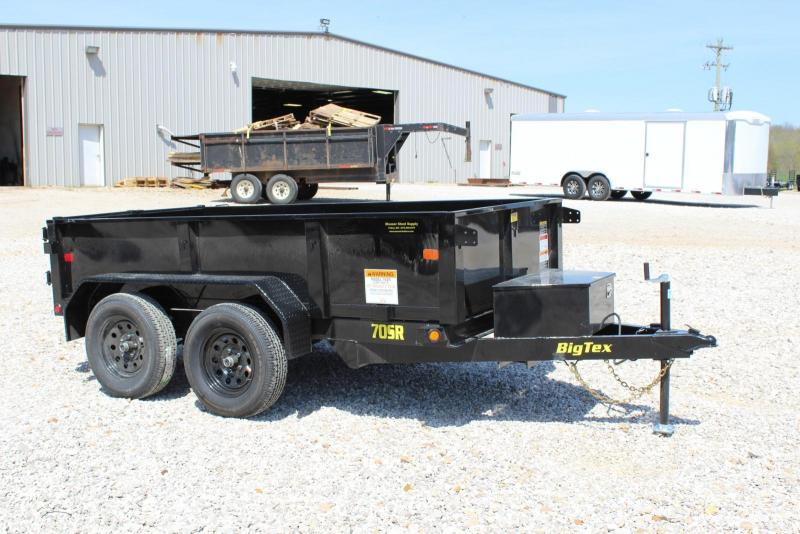2019 Big Tex Trailers 70SR-10-5WDD Dump Trailer