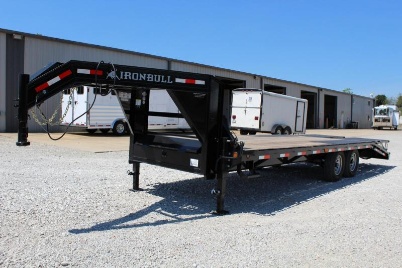 2017 Iron Bull FDG Flatbed Trailer