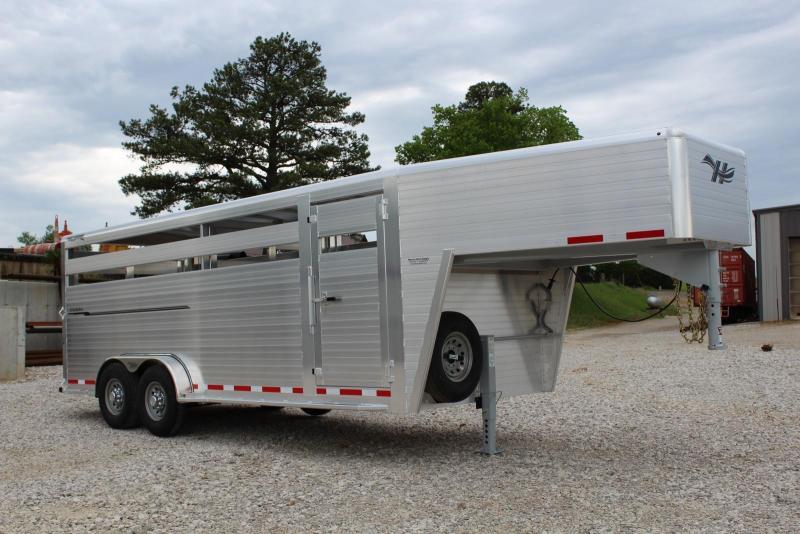 2020 Hillsboro Industries ES7-20-68 Livestock Trailer
