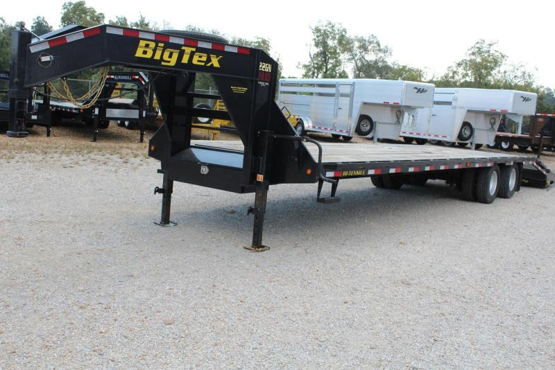 2015 Big Tex Trailers 22GN-285 Flatbed Trailer