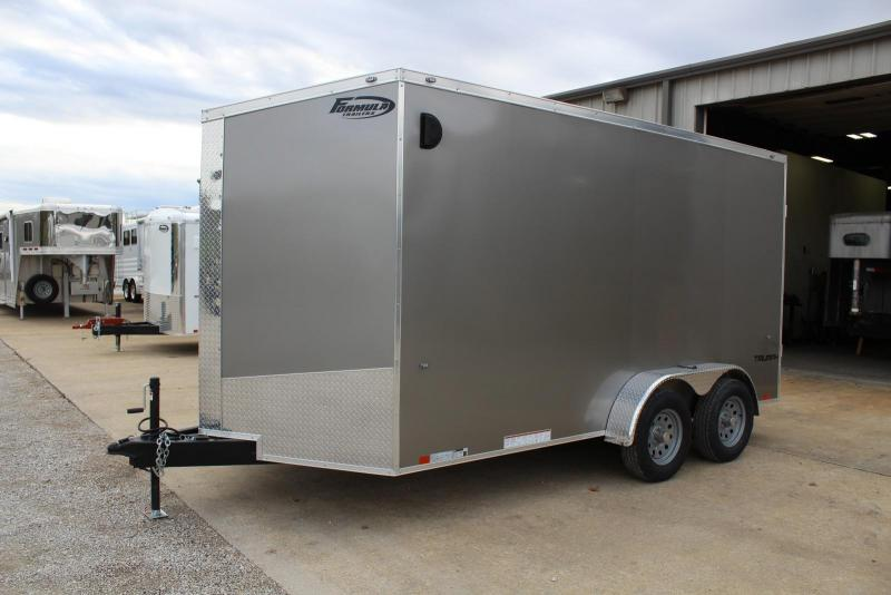 2019 Formula Trailers Triumph Enclosed Cargo Trailer