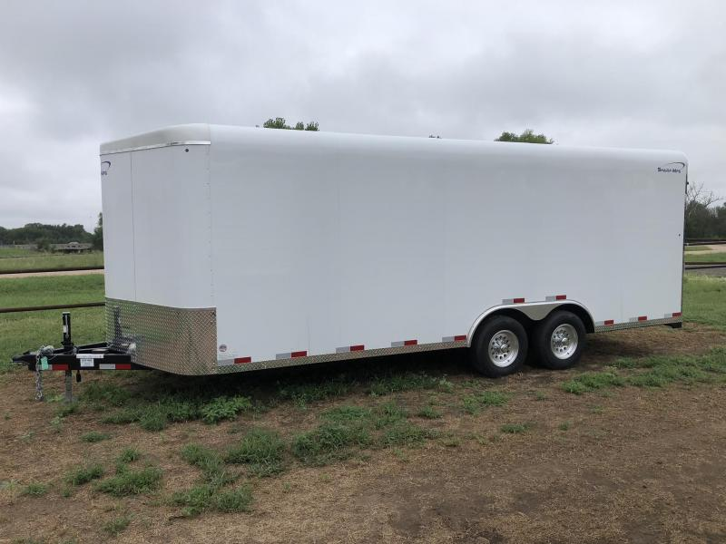 2019 Sharp 101X20 Enclosed Cargo Trailer