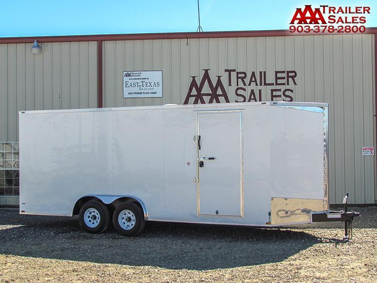 2018 Big Chief V Nose 8.5'x20' Enclosed Trailer