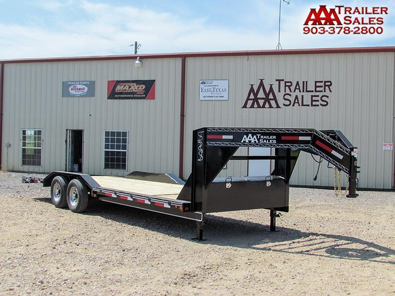 "2018 Gooseneck Car Hauler / Equipment Trailer 102""x24' GVWR 15680"