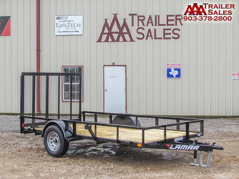 "2018 LAMAR Single Axle Utility 77""x12' GVWR 2990"
