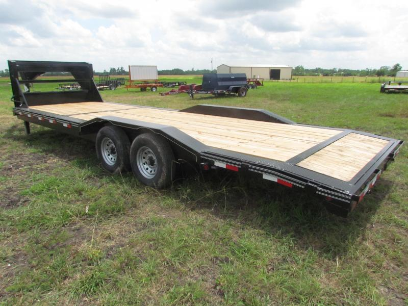 "2016 Gooseneck Car Hauler / Equipment Trailer 102""x26' GVWR 15680 ..."
