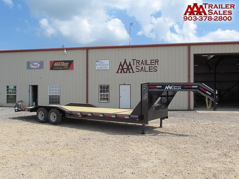 "2018 Gooseneck Car Hauler / Equipment Trailer 102""x26' GVWR 15680"