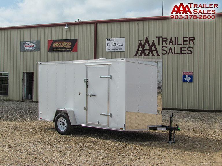 2017 Big Chief V Nose 6'x12' Enclosed Trailer