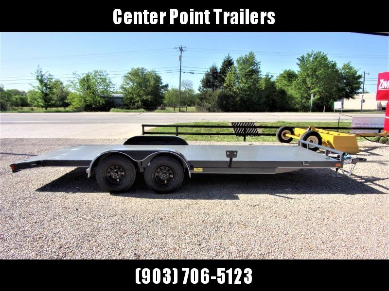 2019 Lamar Trailers 83''x20 Bumper Pull Car Hauler GVWR 7K