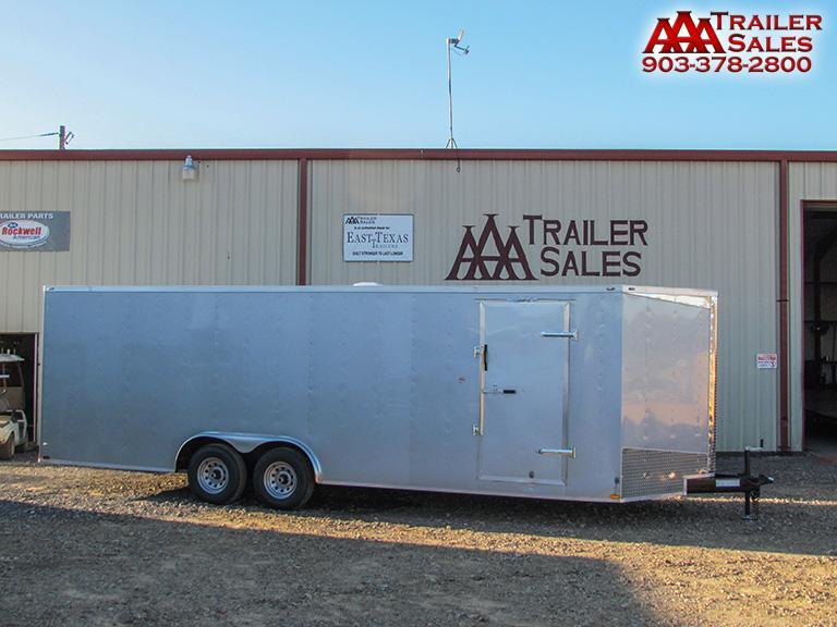 2018 Big Chief V Nose 8.5'x24' Enclosed Trailer