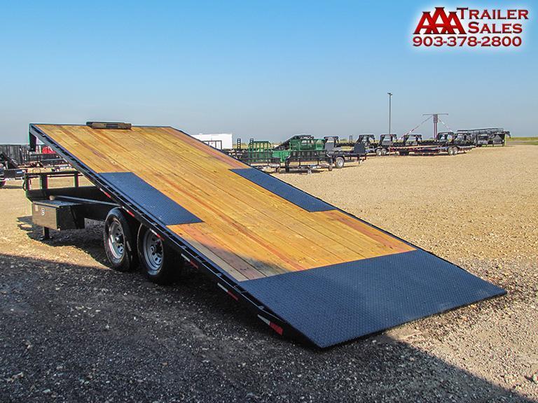 """2018 LAMAR Equipment Deck Over Tilt Deck 102""""x22' GVWR 14000"""