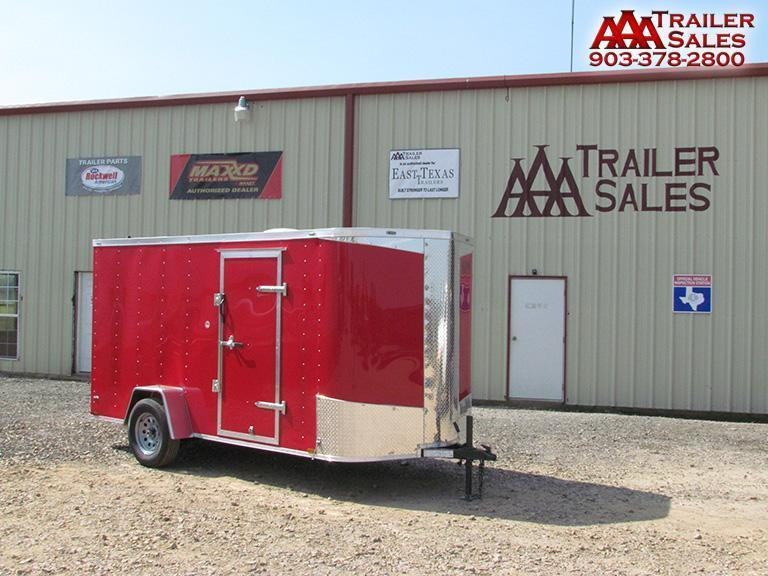 2018 Big Chief V Nose 6'x12' Enclosed Trailer