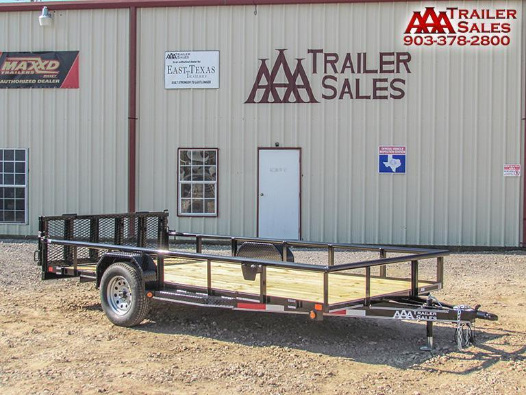"2018 Single Axle Utility Trailer 77""x14' GVWR 2990"