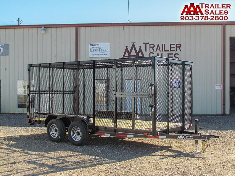 2018 Trash Trailer 83''x16' GVWR 12000