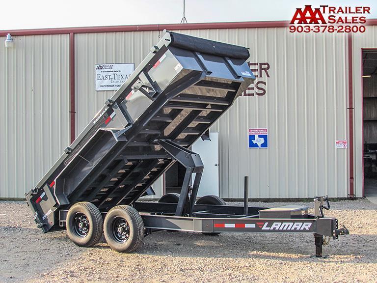 "2018 LAMAR 83""X14' Dump Trailer GVWR 14000"