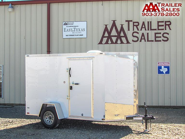 2018 Lark V Nose 6'x10' Enclosed Trailer