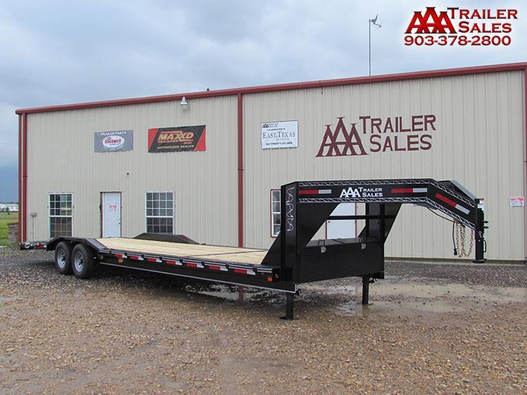 "2018 Gooseneck Car Hauler / Equipment Trailer 102""x30' GVWR 15680"