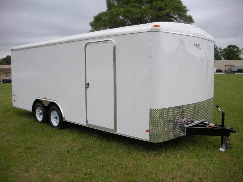 2019 Look Trailers Look 8.5 x 20 Round Enclosed Cargo Trailer