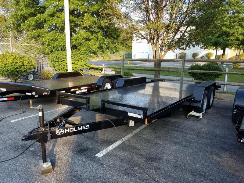 7 x 18 Holmes Steel Deck Car Hauler 7k